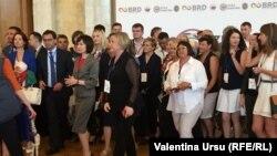 Participanții la Zilele Diasporei 2019, reuniune anulată anul acesta din cauza pandemiei de Coronavirus, Chișinău, august 2019.