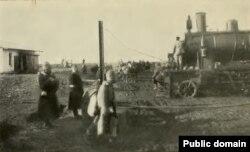 Retragerea în Moldova, sfârșitul anului 1916 (Sursa: Lady Kennard, A Roumanian Diary, 1915, 1916, 1917, New York, 1918)