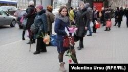 De 8 martie, la Chișinău