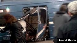 Взрыв в перербургском метро. 3 апреля 2017 г.