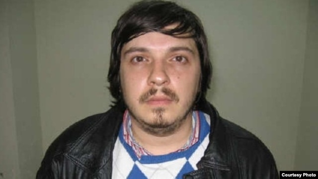 An Interpol picture of Alyaksandr Barankou, who is wanted in Belarus on bribery and fraud charges.