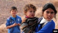کودکان سوری در کمپ پناهجویان در اردن