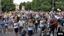 Протестът в Хасково
