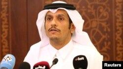 шейх Мохаммед бин Абдул Рахман әл-Тани, Катар сыртқы істер министрі.