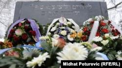 Međunarodni dan sjećanja na holokaust, Jevrejsko groblje, Sarajevo, 27. januar 2012.