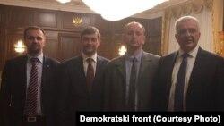 Lideri Demokratskog fronta su u Moskvi razgovorali sa Sergejem Željeznjakom