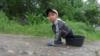 Kyrgyzstan Ysyk Ata Disabled Kid May 2016