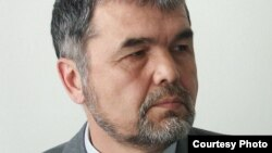 Uzbek dissident Muhammad Salih is attending the meeting