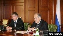 Минтимер Шәймиев Дума сайлаулары нәтиҗәләрен аңлата, 2.11.2007