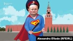Ігор Додон очима карикатуриста