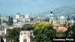 Pamje nga një pjesë e Sarajevës