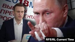 Aleksej Navaljni i Vladimir Putin
