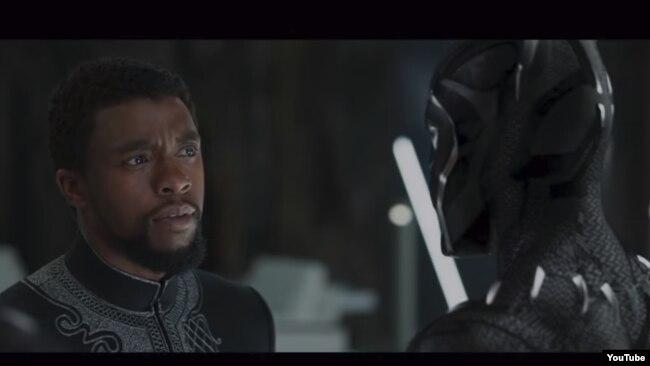 صحنهای از فیلم پلنگ سیاه