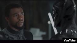 """Michael B Jordan, """"Qara qaplan"""" filmindən kadr"""