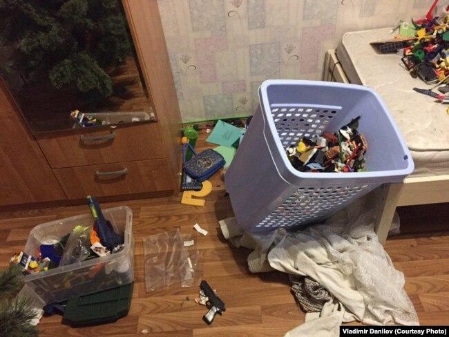 Последствия обыска в доме Милушкиных