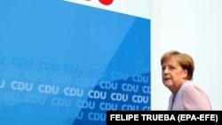 Cancelara Angela Merkel, Berlin, iunie 2019