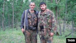 Magomedali Vagabov (right) was killed on August 21 after only five weeks in command.