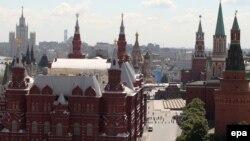 Pamje nga qendra e Moskës