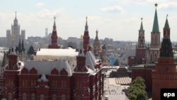 Вид на Красную площадь, Москва
