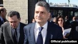 Belgium - Armenian Prime Minister Tigran Sarkisian visits Brussels, 20Mar2014.