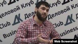 Дагестанский журналист Абдулмумин Гаджиев.