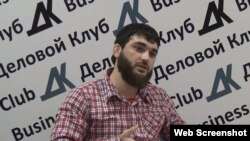 Journalist Abdulmumin Gadzhiyev (file photo)