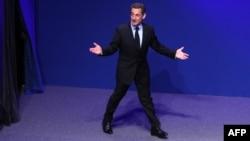 Președintele Nicolas Sarkozy