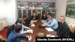 Sastanak Operativne grupe za kontrolu i nadzor nad migrantskom krizom