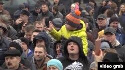 La protestul de la Gomel