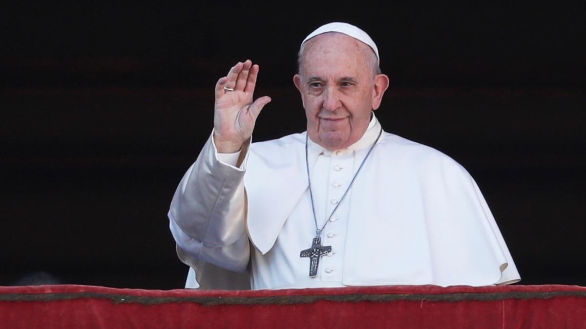 Папа Римский через коронавирус проведет общую молитву и обратится с благословением Urbi et Orbi