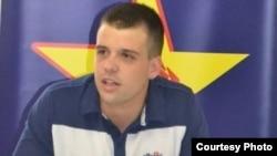 Стефан Богоев, претседател на СДММ, подмладокот на СДСМ.