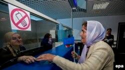În 2014 la aeroportul internațional din Chișinău