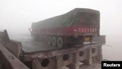 Pamje nga aksidenti në Kinë...