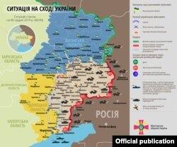 Інфографіка Міністерства оборони України. Ситуація станом на 6 грудня 2019 року