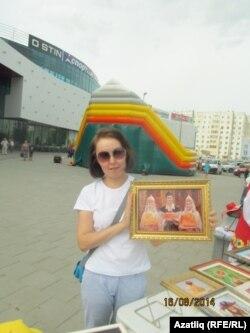 Татьяна Тушакова әсәрләрендә милли чагылыш