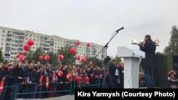 Акция в поддержку Навального в Оренбурге