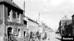 Napredovanje zapadnih saveznika u Normandiji 1944