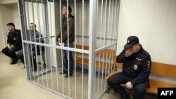 Фотограф Денис Синяков у залі суду, 26 вересня 2013 року