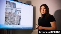 Бақшасарай тарихи-мәдени музей-қорығының бұрынғы директоры Эльмира Аблялимова.