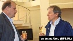 Ministrul agriculturii Vasile Bumacov și comisarul european Dacian Cioloș la Chișinău