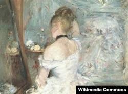 Берта Моризо. Женщина за туалетом. 1875/1880