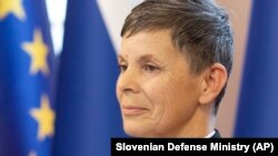 Major General Alenka Ermenc began her military career in 1991, the year Slovenia declared independence from the former Yugoslavia.