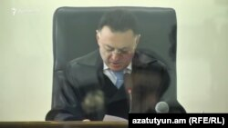 Judge Davit Grigorian has been accused of forgery.