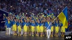 Команда України, фото з церемонії відкриття Європейських ігор 12 червня 2015 року