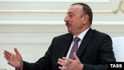 Озарбайжон президенти Илҳом Алиев.
