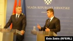 Milo Đukanović i Zoran Milanović, Zagreb, 2. lipnja 2014.