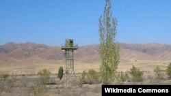 Пост на государственной границе Казахстана. Иллюстративное фото.