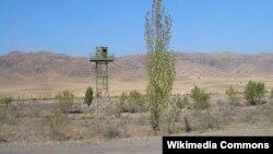 Казахско-кыргызская граница. Иллюстративное фото.