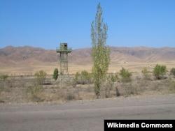 На казахско-кыргызской границе. Иллюстративное фото.