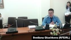 Марат Абишев, представитель генеральной прокуратуры. 18 апреля 2014 года.